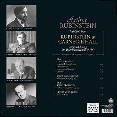 Highlights From Rubinstein At Carnegie Hall (Arthur Rubinstein)