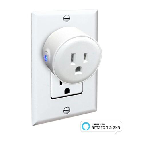 Digital Gadgets Mini Smart Plug WiFi Enabled Works w/ Alexa