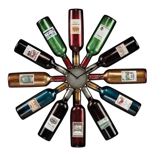 Sterling Wine Bottle Clock [Accentuate]