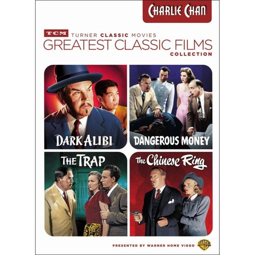 TCM Greatest Classic Films Collection: Charlie Chan [4 Discs] [DVD]