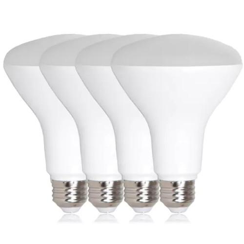 Maxxima BR30 LED 11-watt Warm White 950-lumen 75-watt Equivalent Light Bulb (Pack of 4)