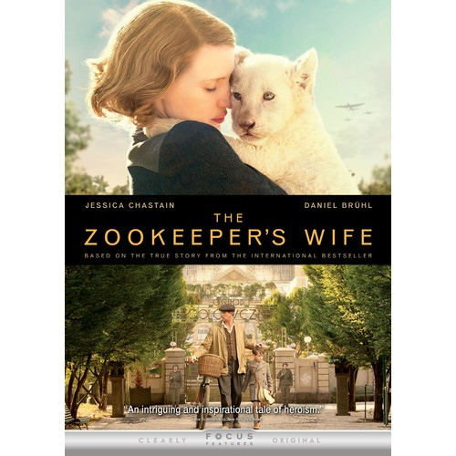 The Zookeeper's Wife [DVD] [2017]