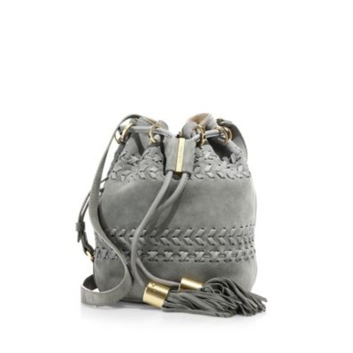 Vicki Small Leather Bucket Bag