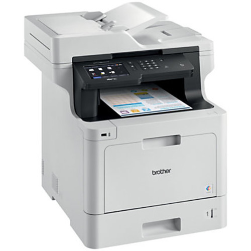 Brother Business Wireless Color Laser All-in-One Printer, Scanner, Copier, Fax, MFC-L8900CDW