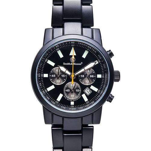 Smith & Wesson Watches Pilot Watch with Stainless Steel Strap