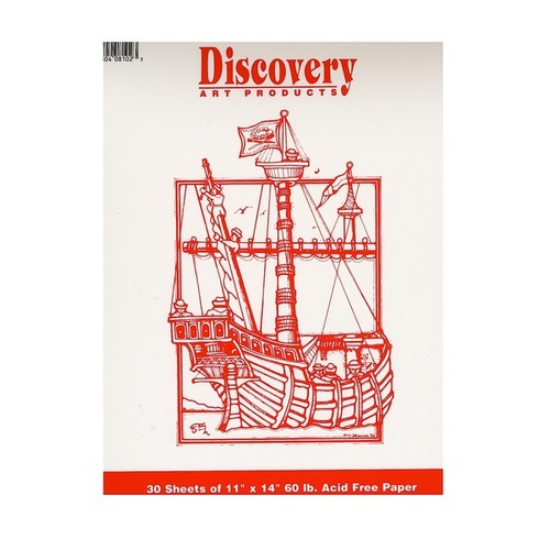 Discovery Sketching Pads - White