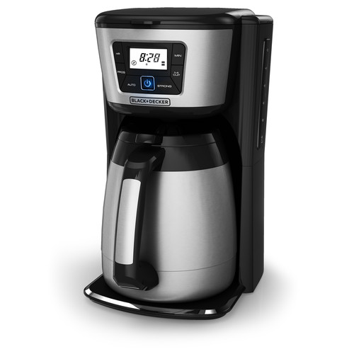 BLACK+DECKER 12-Cup Programmable Coffee Maker, Thermal Carafe, CM2035B