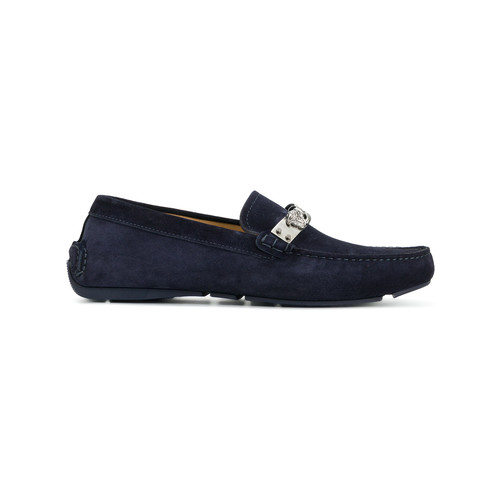 chain Medusa loafers