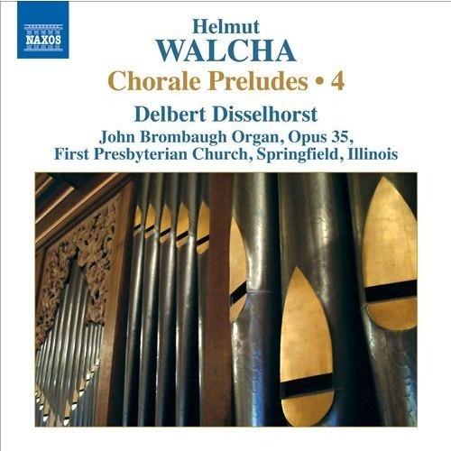 Helmut Walcha: Chorale Preludes, Vol. 4 [CD]
