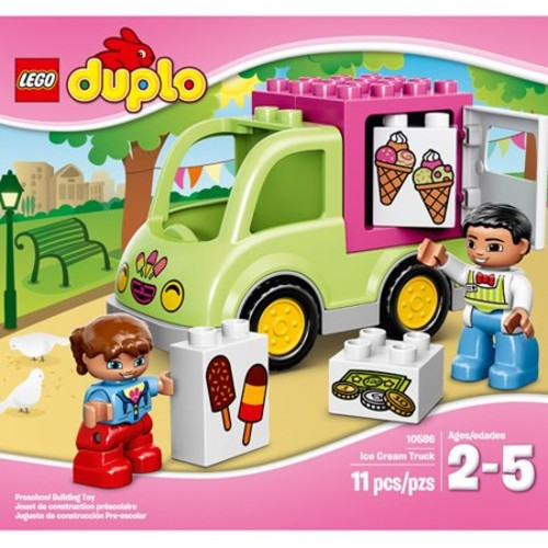 LEGO Duplo Town Ice Cream Truck 10586