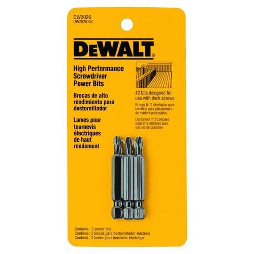 DeWalt 3-Piece Deck Bit Set - DW2026