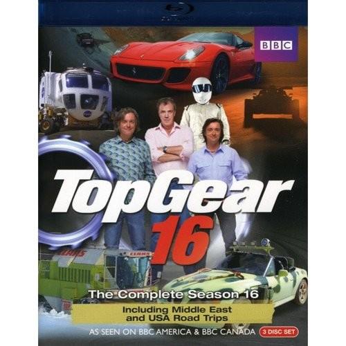 Top Gear: The Complete Season 16 [3 Discs] [Blu-ray]