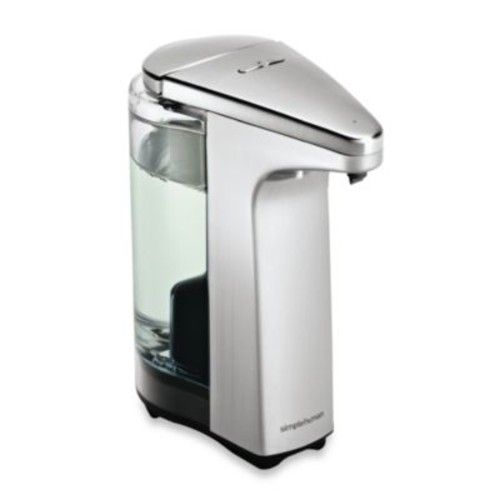 simplehuman Compact Sensor Pump Soap Dispenser with Sample Soap