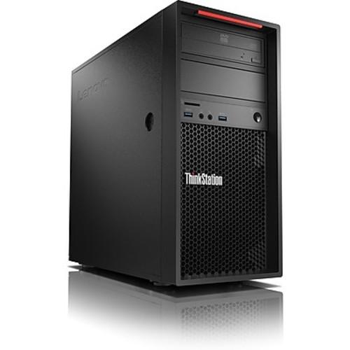 Lenovo ThinkStation P320 30BH0036US Workstation, 1 x Intel Xeon E3-1245 v6 Quad-core 3.70GHz, 16GB DDR4 SDRAM, 512GB SSD