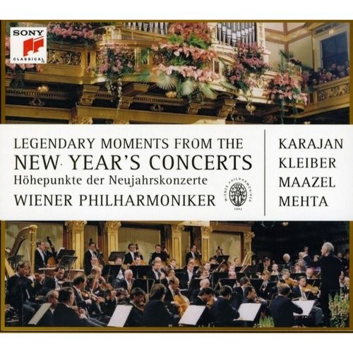 Various Artists: Legendary Moments of the New Year's Concert [CD/DVD] [DVD]