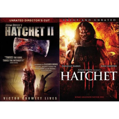 Hatchet II/Hatchet III [DVD]