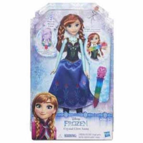 Disney Frozen Crystal Glow Doll Set - Anna