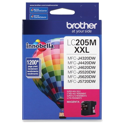 Brother LC207M Magenta Super High Yield Ink Cartridge