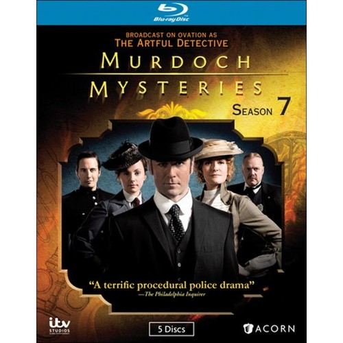 Murdoch Mysteries: Season 7 [5 Discs] [Blu-ray]
