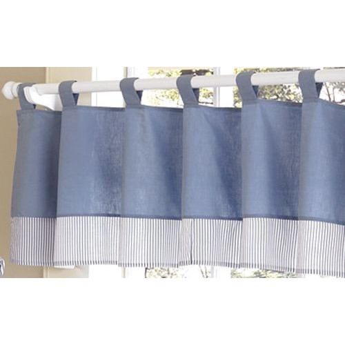 Sweet Jojo Designs Come Sail Away Collection Window Valance