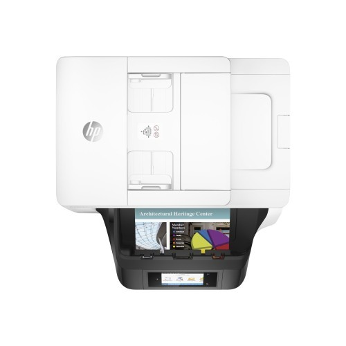 HP Inc. Officejet Pro 8740 All-in-One - Multifunction printer - color - ink-jet - Legal (8.5 in x 14 in) (original) - A4/Legal (media) - up to 37 ppm (copying) - up to 36 ppm