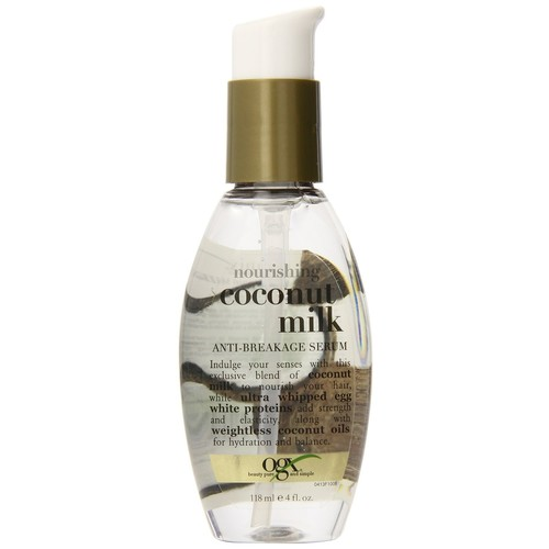 OGX Coconut Milk, Nourishing, 4 fl oz (118 ml)