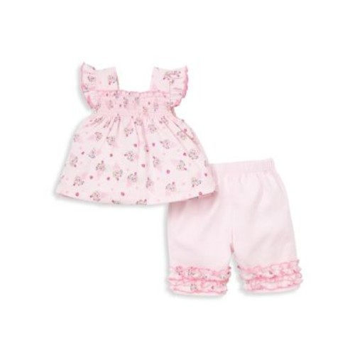 Baby's Two-Piece Cherry On Cotton Top and Capri Pants Set