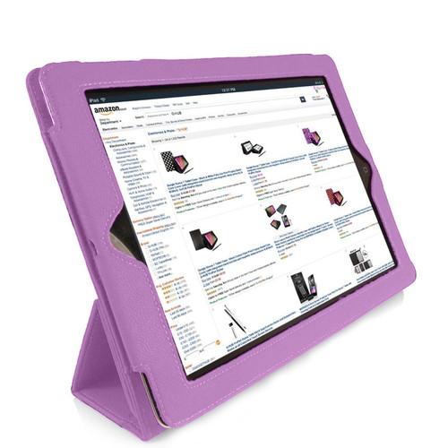 MGear 97077295M Tri-Fold Purple Folio Case for iPad