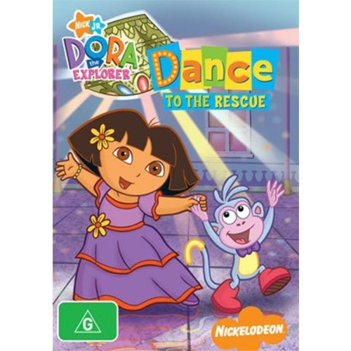 Dora the Explorer-Dance To the Rescue