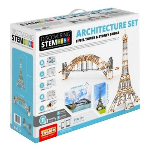 Engino Discovering Stem Architecture Model Set