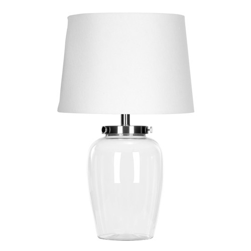 Safavieh LIT4066A Clear Glass Table Lamp