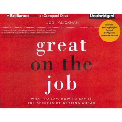 Great on the Job Jodi Glickman CD