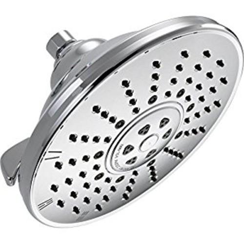 Delta 52680 3-Spray Touch Clean Shower Head, Chrome: Home Improvement [Chrome]