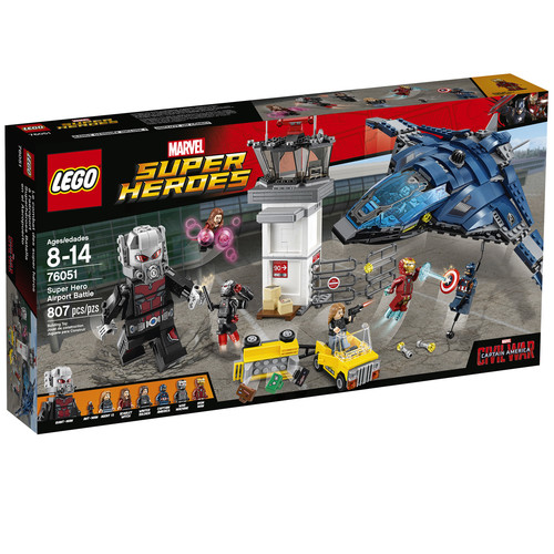 LEGO Marvel Super Heroes Airport Battle #76051
