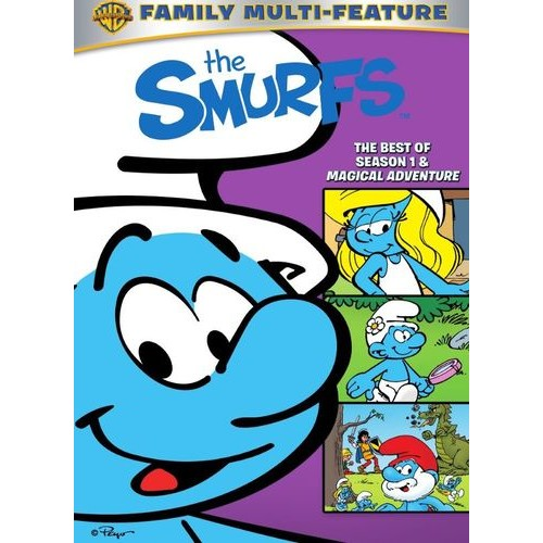 The Smurfs: The Best of Season 1 & Magical Adventure [3 Discs] [DVD]