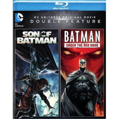 DC Universe Original Movie Double Feature: Son of Batman/Batman: Under the Red Hood [Blu-ray]