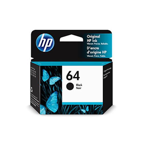 HP 64 Ink Cartridge - Black