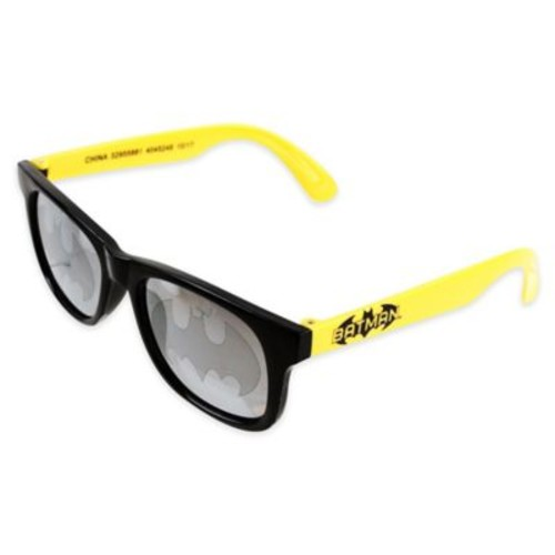 Warner Brothers Batman Sunglasses in Black/Yellow
