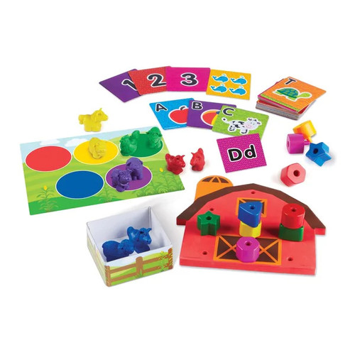 Learning Resources All Ready for Toddler Time Readiness Kit - All Ready for Toddler Time Readiness Kit