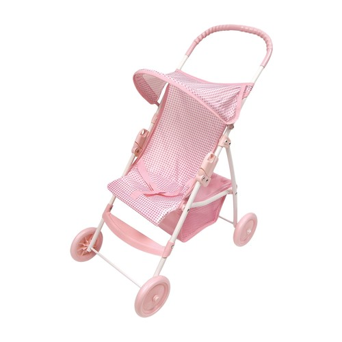 Folding Doll Umbrella Stroller by Badger Basket