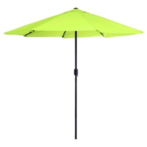 9' Aluminum Patio Umbrella with Auto Crank - Pure Garden