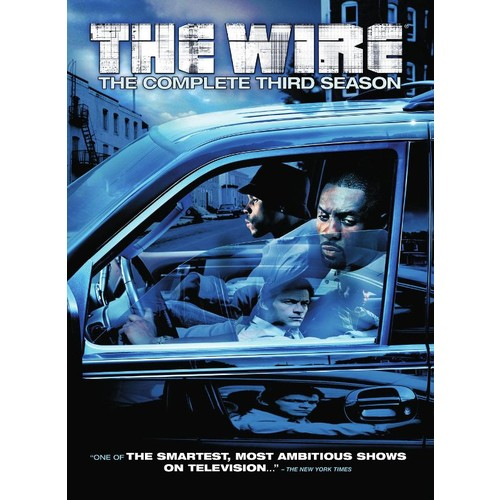 The Wire: The Complete Third Season [5 Discs] [DVD]