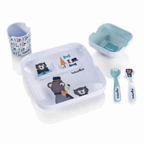 babymoov 5-Piece Lunch Feeding Set in Lovely Bear