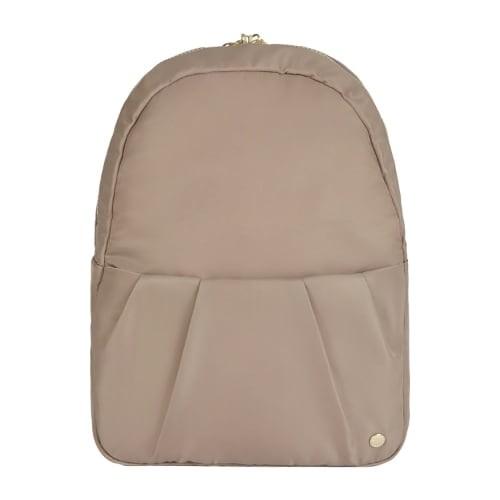 Pacsafe Citysafe CX - Blush Tan Covertible Backpack w/ RFIDsafe Blocking Pockets