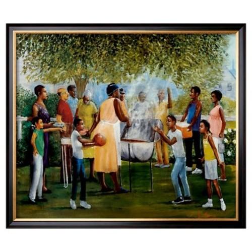 Art.com - Family Reunion by Laverne Ross - Framed Print