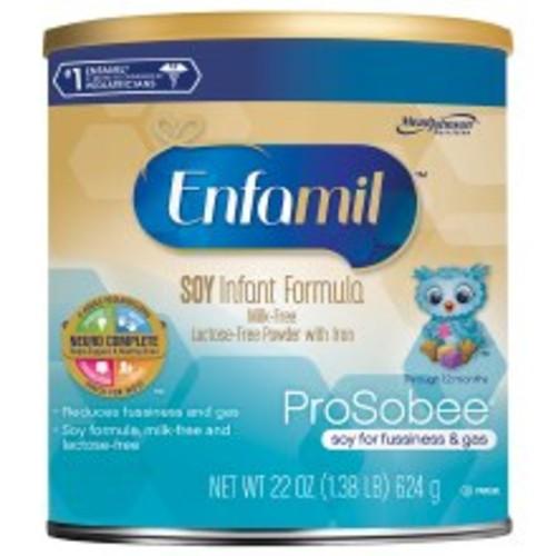 Enfamil ProSobee Soy Infant Formula for Sensitive Tummy, Powder, 0-12 months