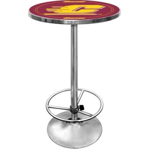 Trademark Central Michigan University Chrome Pub/Bar Table