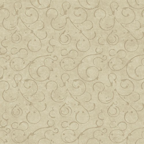Chesapeake Shin Bronze Golden Scroll Texture Wallpaper