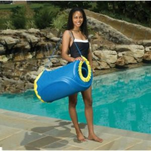 Blue Wave Handy Tote for Unsinkable Blue Pool Float