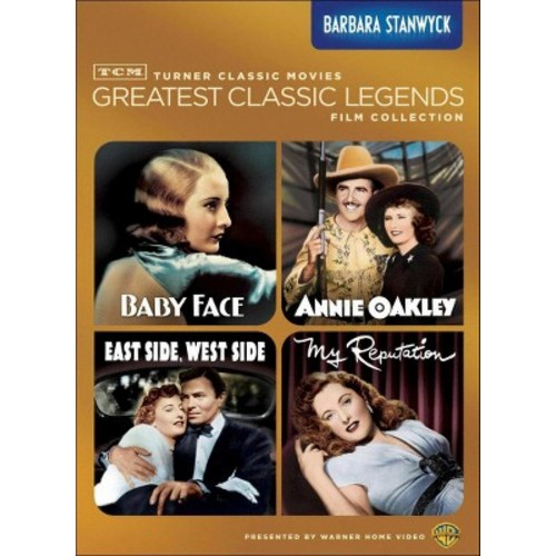 TCM Greatest Classic Legends Film Collection: Barbara Stanwyck [4 Discs] [DVD]